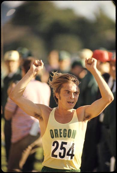 Steve Prefontaine, one of the best distance runners in American history.