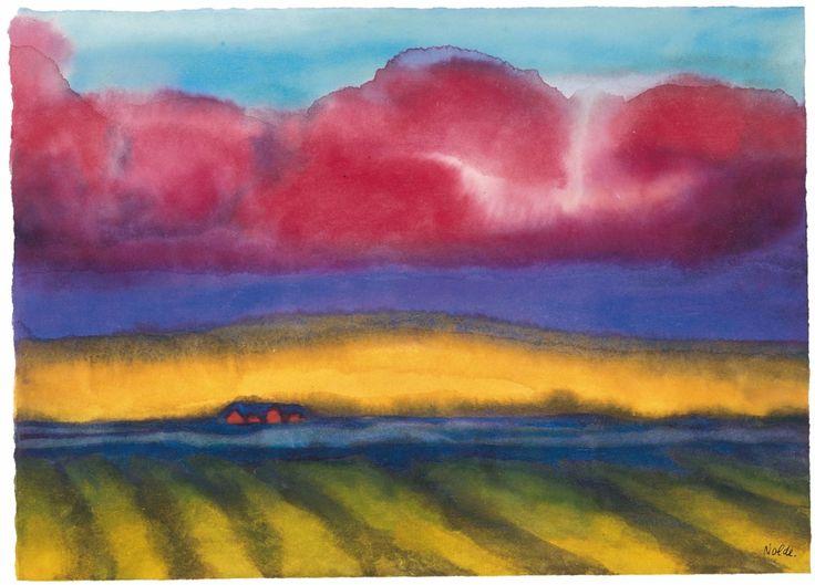 Emil Nolde, Marschlandschaft mit Bauernhof, 1935 Tags: #Emil Nolde #german…                                                                                                                                                                                 Mehr