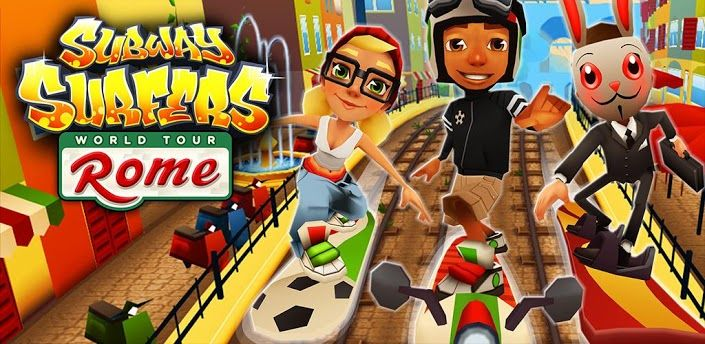 Subway Surfers - World Tour Rome for Android and iOS