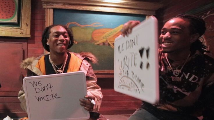 Can Migos agree-gos in our rap-centric version of The Newlywed Game? Talent Show: Can Migos agree-gos in our rap-centric version of The Newlywed Game?        The Atlanta rappers that make up MigosQuavo Takeoff and Offsetare no strangers to the finer things in life. The trio first hit it big with Versace in 2013 and theyve been reveling in excess ever since. When the three stopped by Chicago on their recent tour  The A.V. Club  decided to see how often Migos could agree-gos with our…