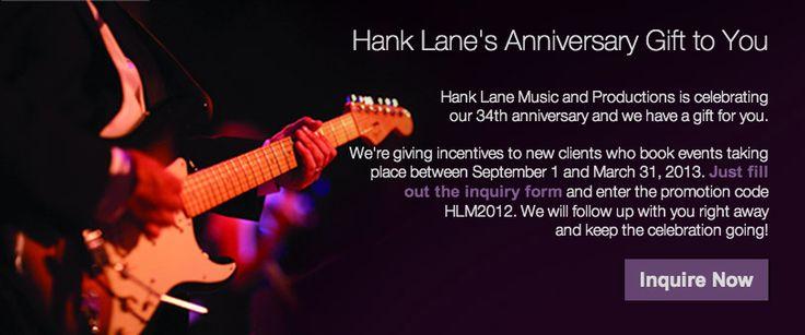 Hank Lane Music New York City (NYC) Location, Hank Lane Music Hicksville, Long Island (LI) Location : Hank Lane Music & Productions