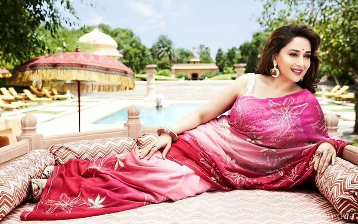 #MadhuriDixit from Hello! Mag photoshoot.. :)