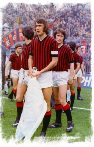 Pierino Prati e il Milan a Palermo nel 1970