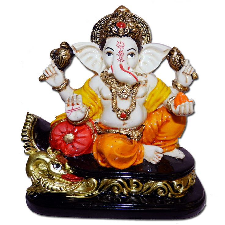Awesome Ganpati Statue For Home Decor and Gifting http://www.ashopi.com/Maharaja-Ganpati-Ganesh-Idol_5353.html