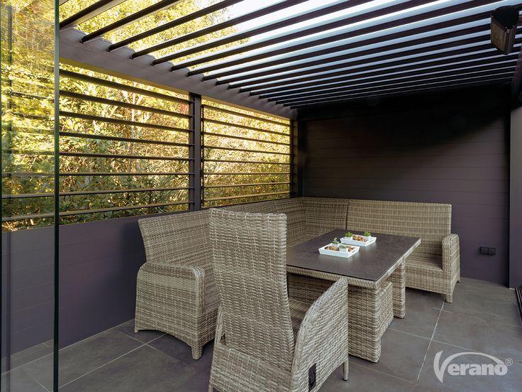 Geniet van extra vrijheid met een vrijstaand #terrasscherm! #Verano #patioawning