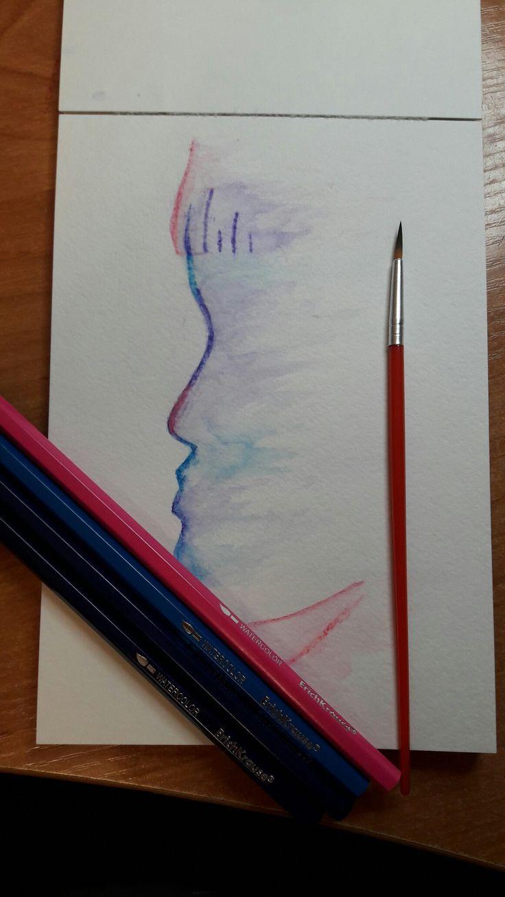 Акварельные карандаши:)