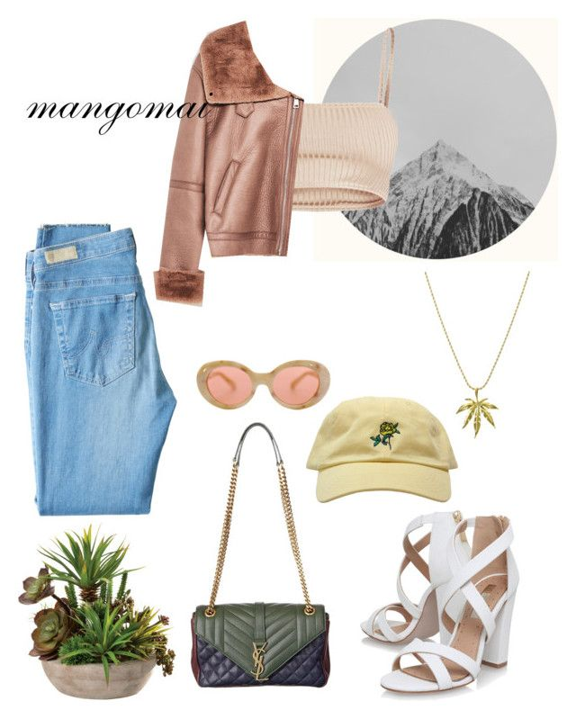"""""""Untitled #133"""" by mangomai on Polyvore featuring AG Adriano Goldschmied, Miss KG and Acne Studios"""