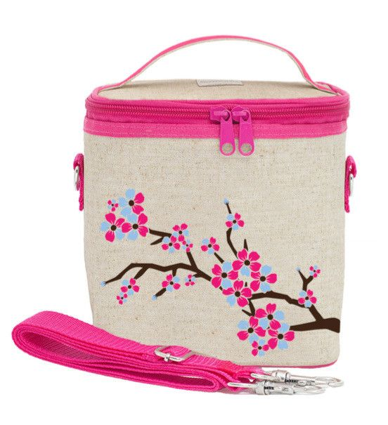 RAW LINEN - Cherry Blossom Large Cooler Bag