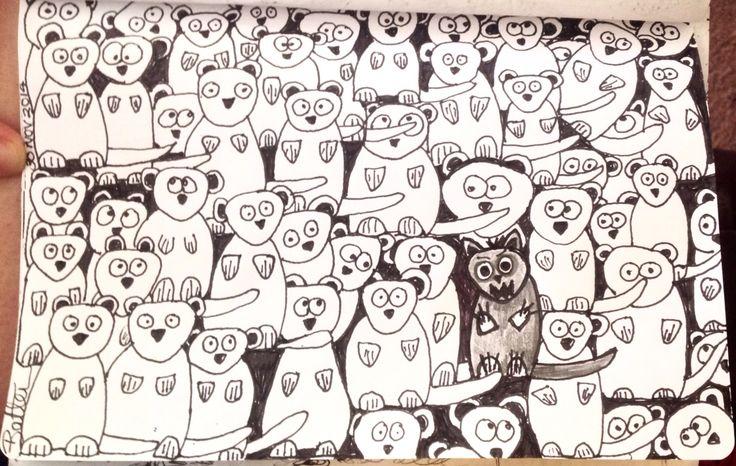 Doodle sketchbook by Sonya