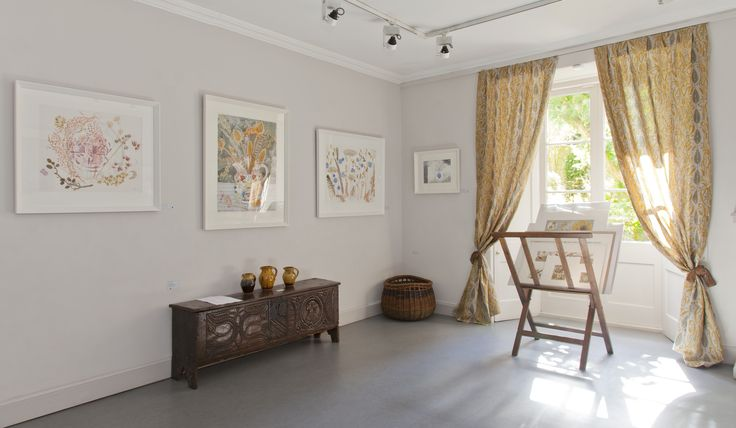 Angie Lewin's 2015 'A Natural Selection' exhibition at The Scottish Gallery in Edinburgh. http://www.angielewin.co.uk/collections/a-natural-selection