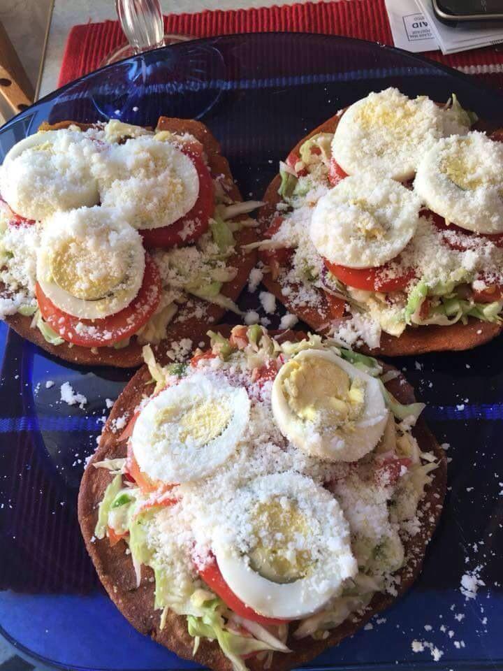 Deliciosas enchiladas hondureñas
