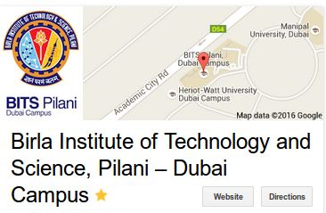 Want to learn in best university of Dubai UAE for courses like Engineering, MBA, BTech & Phd. Contact Bits Pilani college now. #BitsPilaniDubaiAdmissions #Dubaiuniversity Read More: http://www.bits-pilani.ac.in/Dubai/AdmissionContactUs