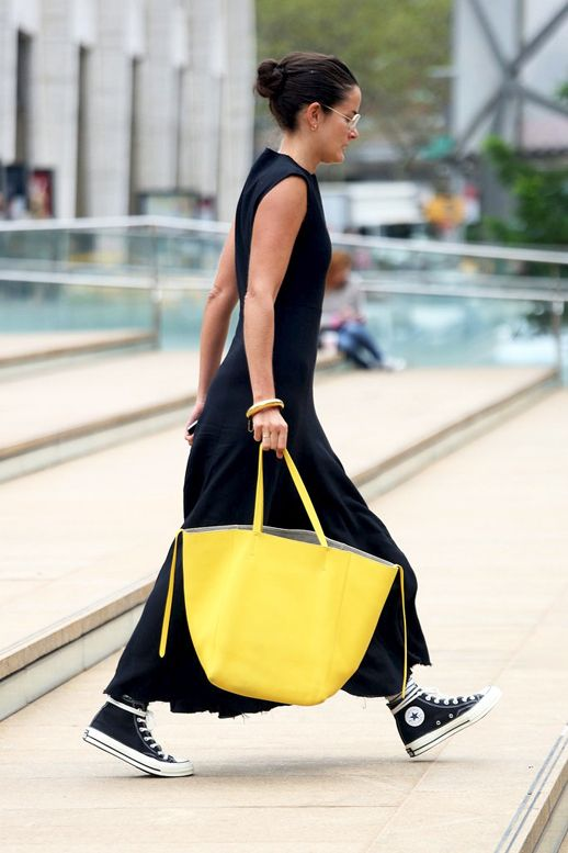 Copy Lucy Chadwick's Casual Chic Way To Wear Hi-Top Sneakers | Le Fashion | Bloglovin'