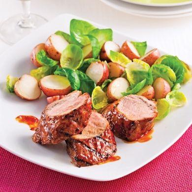 Filets mignons de porc, style ribs - Recettes - Cuisine et nutrition - Pratico Pratique