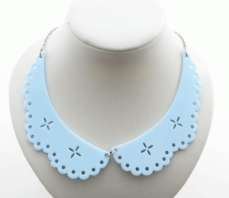 Colier- guler plastic - Meli Melo - Paris /Plastic collar, Venetian Affair spring collection 2013