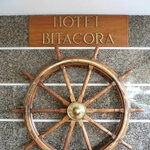 Hotel Bitacora Tenerife entrance wheel