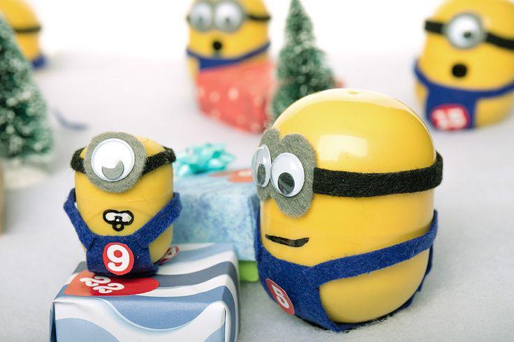 Minions Adventskalender Bastellanleitung #Atongarix #Minions #Adventskalender…