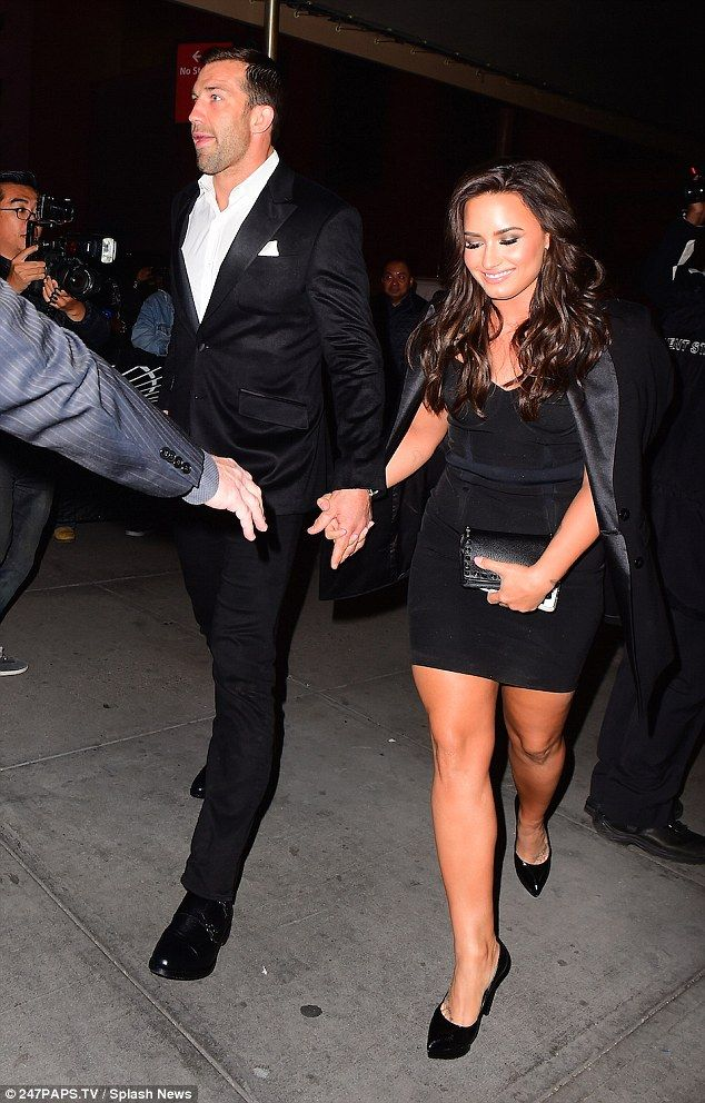 It's official then! Demi Lovato confirmed her romance with MMA fighter Luke Rockhold as they arrive to UFC 205 in NY hand in hand on Saturday night