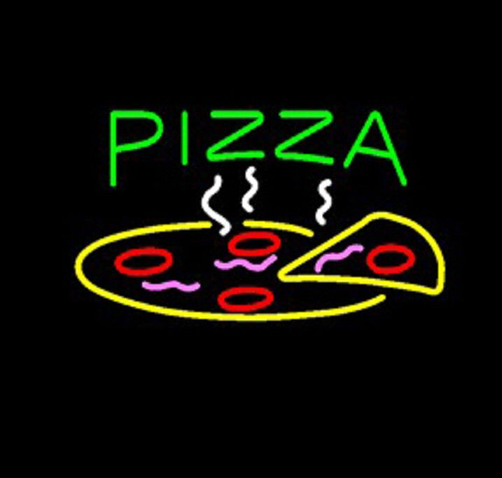 Pizza Food Neon Sign