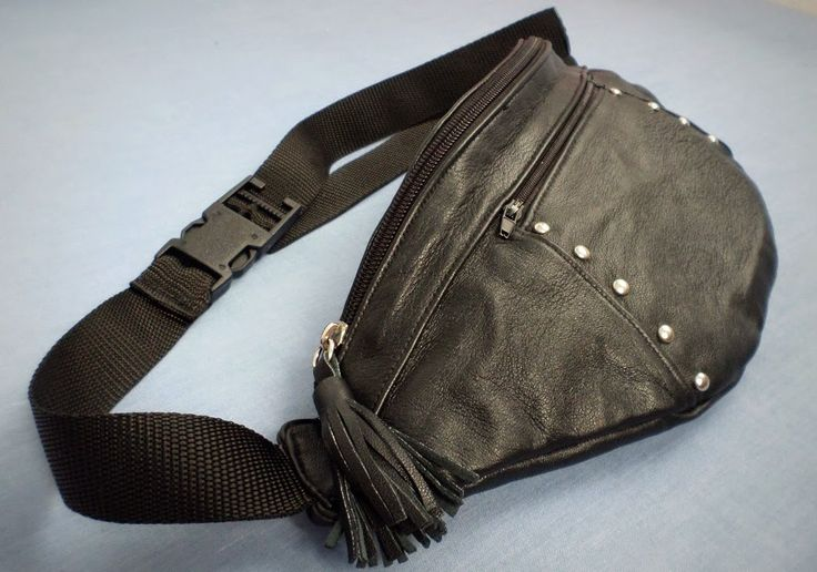 Bag belt leather
