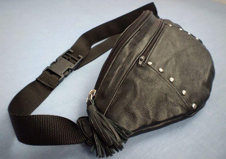 Bag belt leather