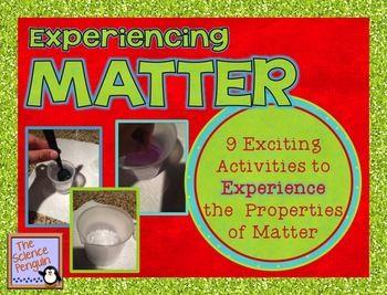 Experiencing Matter: 9 Activities for Intermediate Scientists $