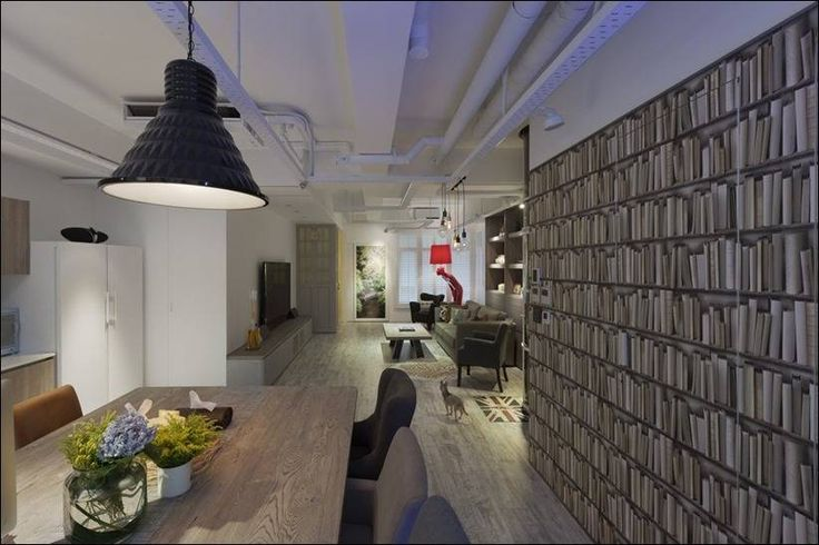 Футуристический дизайн квартиры в Тайбэе