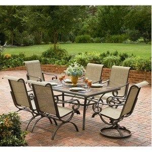 Ourdoor Patio Set! Beautiful For Outdoor Dining.
