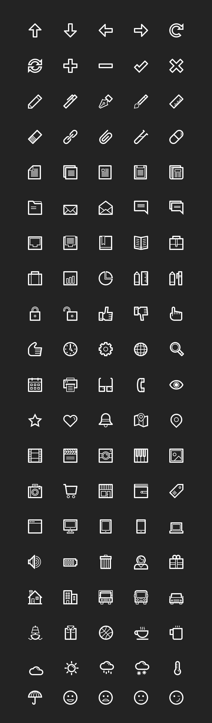Today we want to share a free sample pack including 100 essential line icons from LineArt, a premium icon pack including 700 line-based pict...