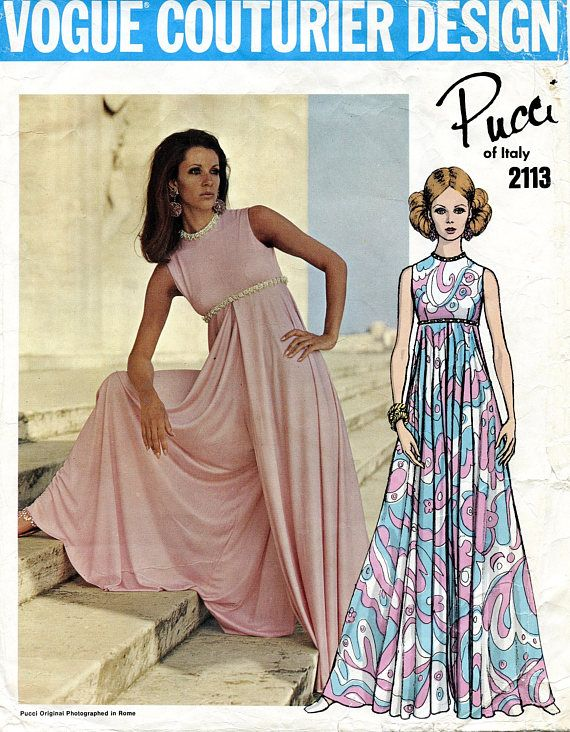 4172b9ea020f6 Vogue 2113 WIDE LEG JUMPSUIT Pattern Flared Palazzo Pants Culotte ...