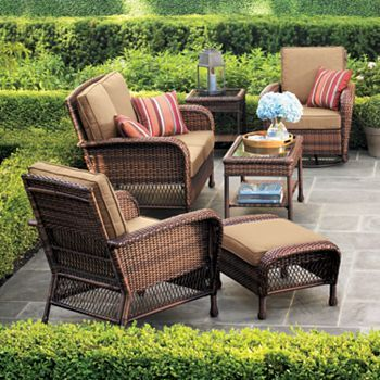 Find This Pin And More On The Great Outdoors Sonoma Outdoors Madera Patio Furniture