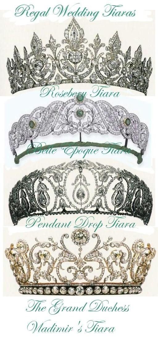 Tiaras of British Royal Family.                   hmm which do I wear today?