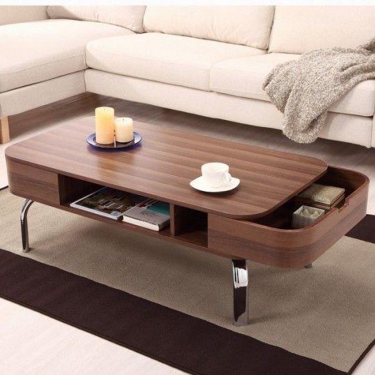 Table basse avec tiroirs «secrets» Lawson par Hokku Design