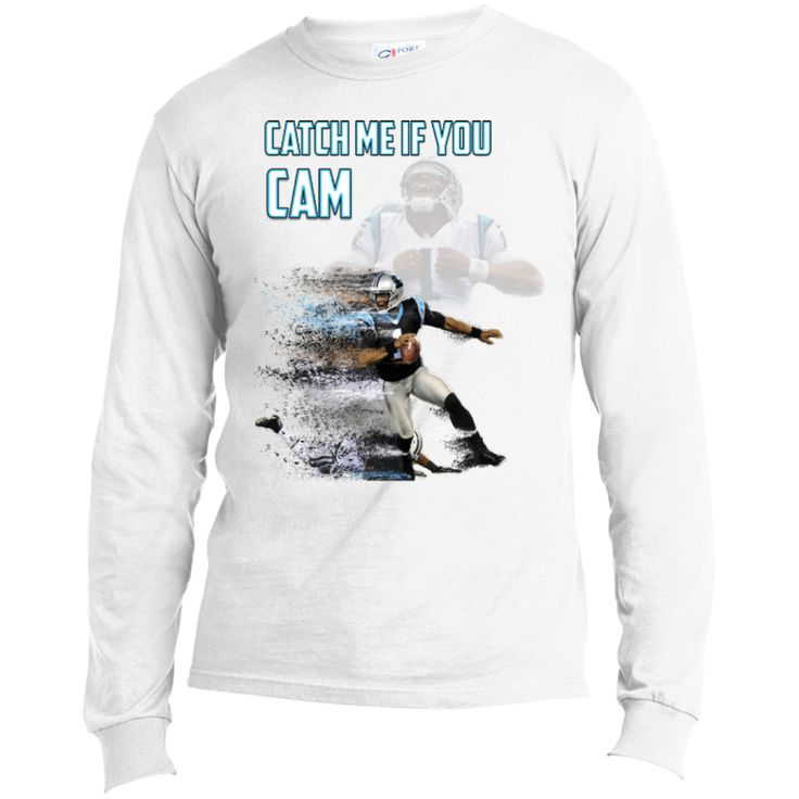 Cam Newton Panthers Custom Designed Fan Long Sleeve T-Shirt