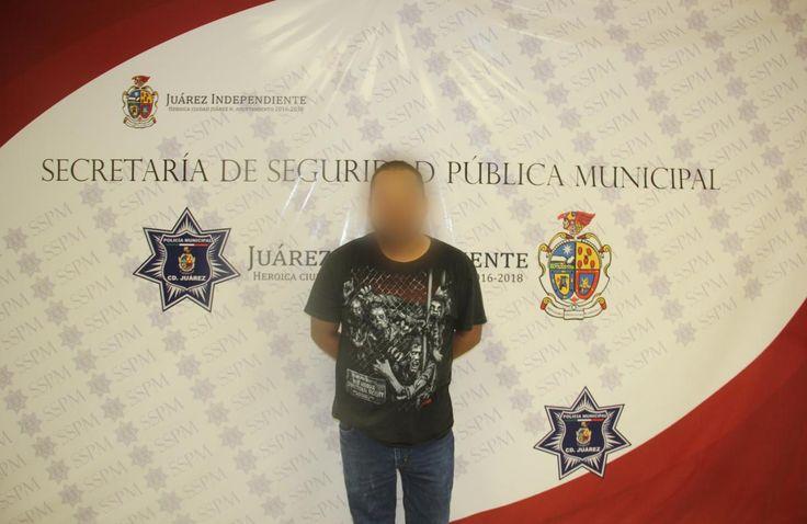 Detienen a sujeto en Juárez por violencia familiar; Golpeó a su esposa | El Puntero