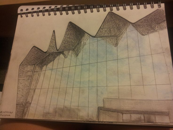 Glasgow Riverside Museum #Ballpen #Pencil