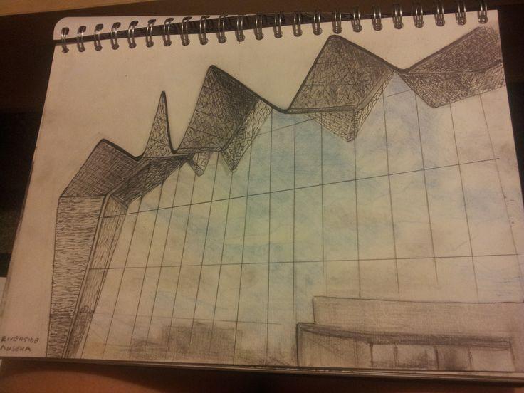 Glasgow Riverside Museum #Ballpen #Pencil