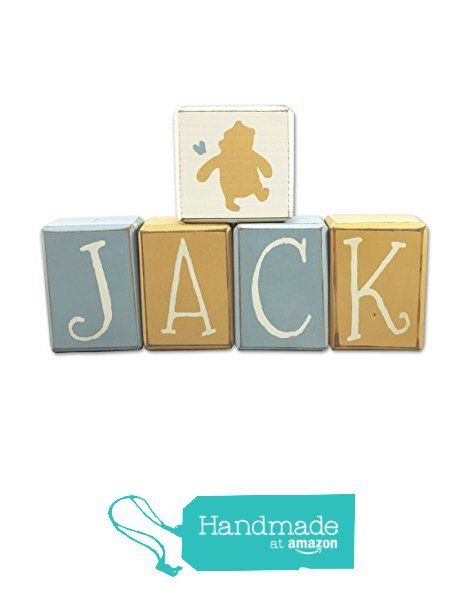 Classic Winnie the Pooh nursery decor baby's room, pooh, piglet, tigger, custom name letter blocks by Apple Jack Designs from Apple Jack Designs http://www.amazon.com/dp/B01FKOUKYG/ref=hnd_sw_r_pi_dp_lOWpxb0APRYFK #handmadeatamazon