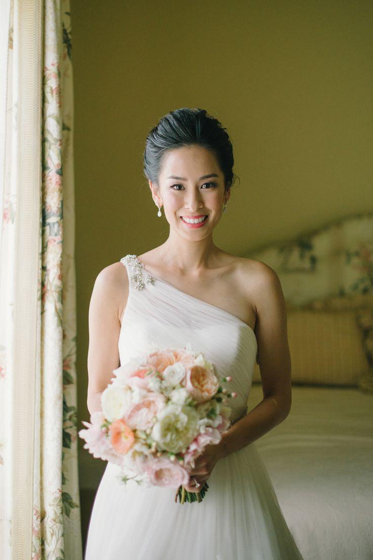 Romantic Outdoor Affair In A Sea Of Pastel Wedding MakeupBridal