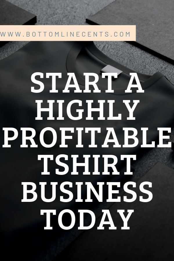 How to Start a tshirt Business at Home – Bottom Line Cents