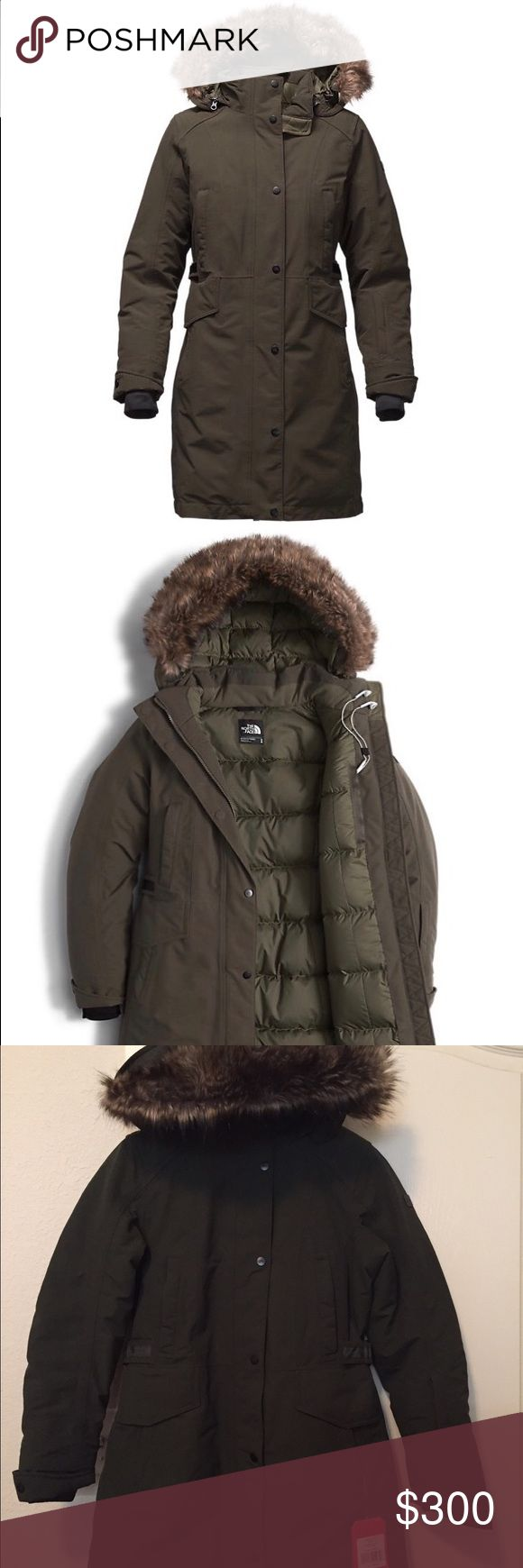 Brand New with Tags North Face Tremaya Parka Women Brand new with tags! Goose down, size MEDIUM, color- Rosin Green. Original price $420 The North Face Jackets & Coats Puffers
