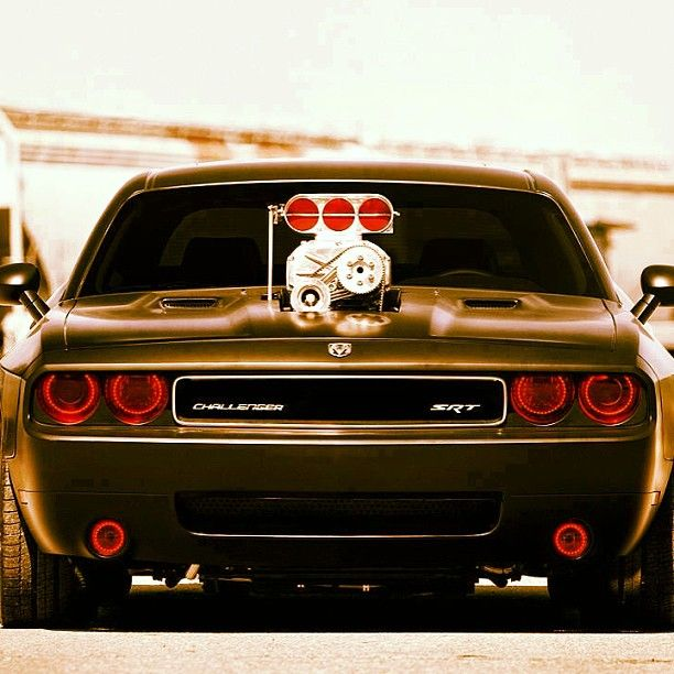 Holy S**t! Dodge Challenger SRT