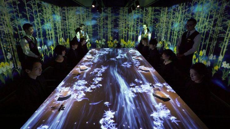 À Tokyo, le restaurant Sagaya invite ses clients à un véritable voyage sensoriel