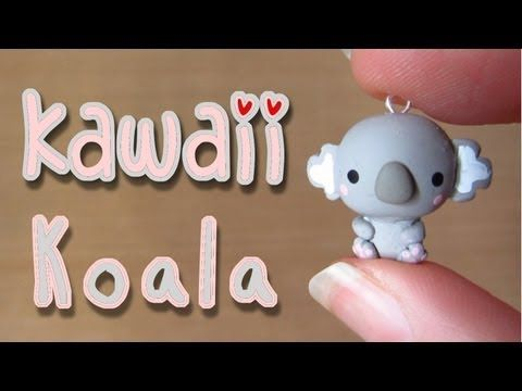 Kawaii Koala Tutorial: Polymer Clay Charm