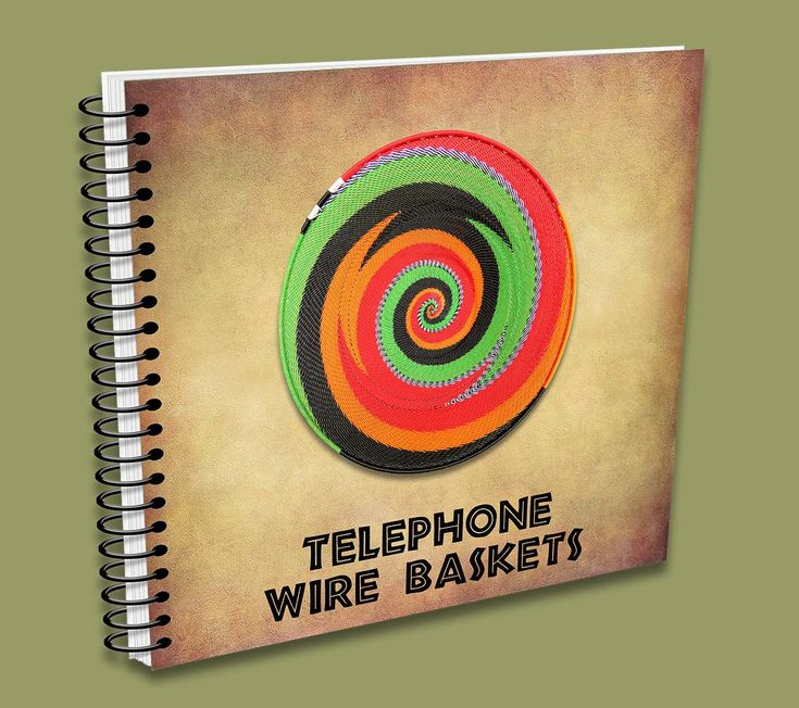 Telephone Wire Basket Catalogue - handmade in South Africa.