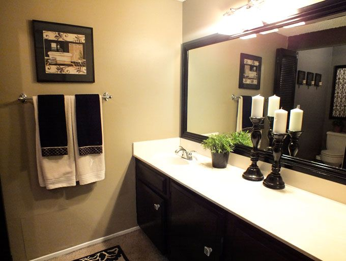 Bathroom Mirror Makeover Pinterest 32 best bathrooms images on pinterest | bathroom ideas, home depot