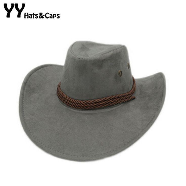 Western Hats For Men Cowboy Caps Chapeau Homme Cowboy Solid Cap YY0270-2
