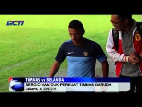 Latihan Ringan Indonesia Jelang Melawan Belanda