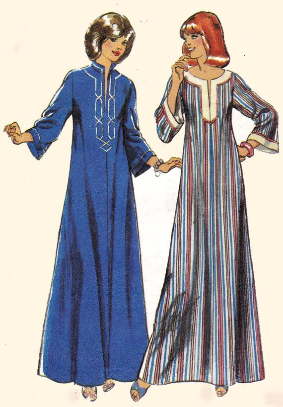 70s Vintage Sewing Pattern Style 2313 Maxi by allthepreciousthings, Had this pattern!!