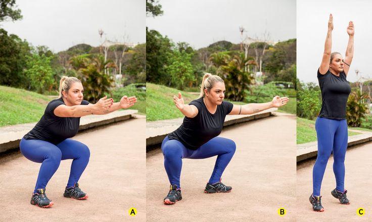 Novo agachamento deixa bumbum e pernas ainda mais definidos | BOA FORMA